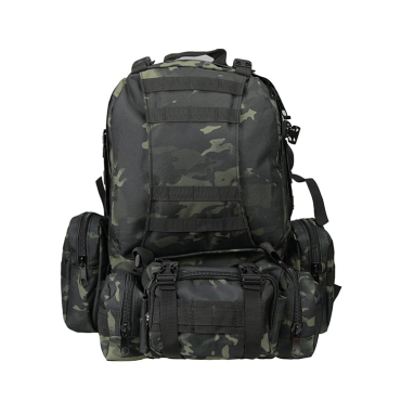 Рюкзак Tactical Military Combat Multicam Black, 50 литров