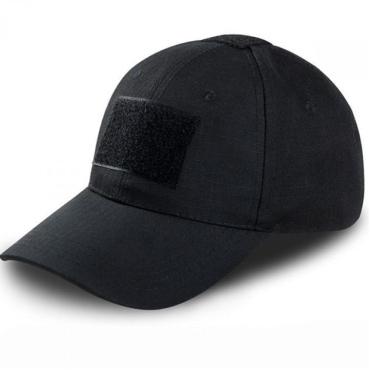 Бейсболка Tactical-Velcro Black