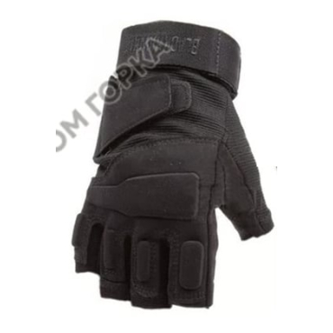 Перчатки беспалые BLACKHWK black