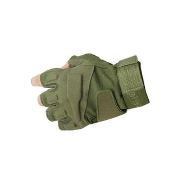 Тактические перчатки беспалые SWAT Olive