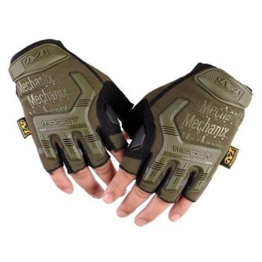 Перчатки беспалые Mechanix M-Pact 3 Olive (replic)