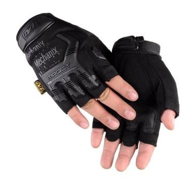 Перчатки беспалые Mechanix M-Pact 3 Black (replic)
