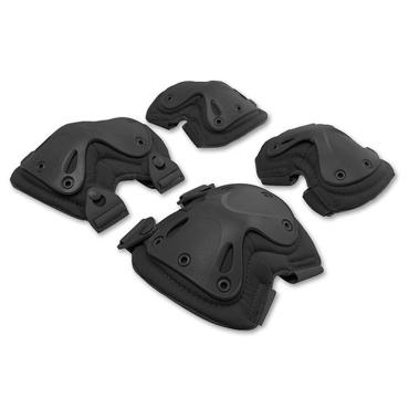 Комплект защиты суставов  Черный