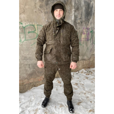 Костюм Горка 6 М Серый Пинкод  на Флисе