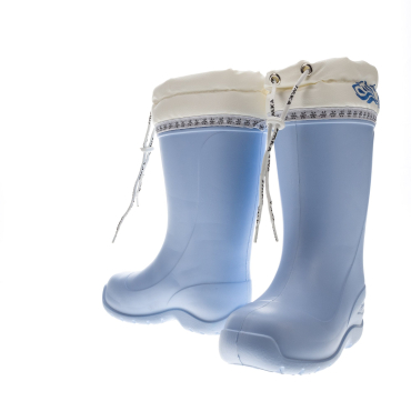 Сапоги УМКА СВ-70ж - женские голубые