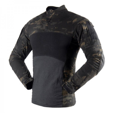 Боевая Рубаха Черный Мультикам